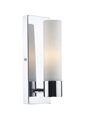 Adagio 1 Light Wall Bracket Polished Chrome IP44 (Class 2 Double Insulated) BXADA0750-17